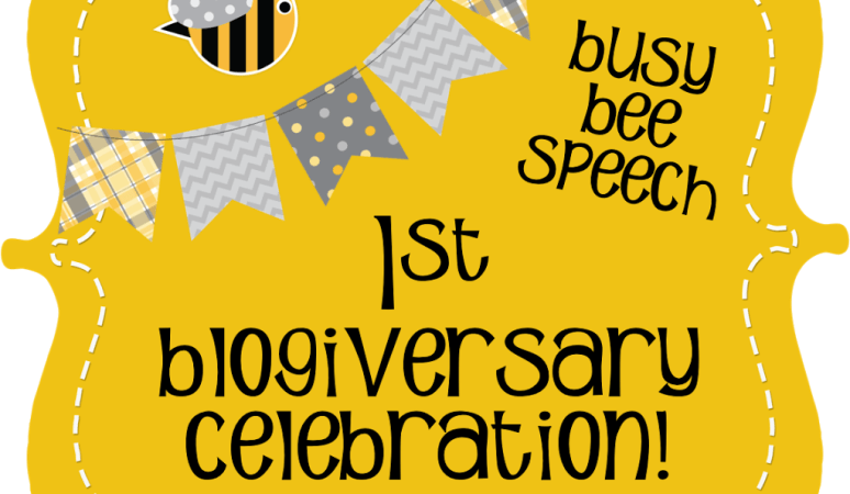 Blogiversary Celebration!