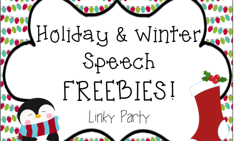 Holiday FREEBIE Linky!