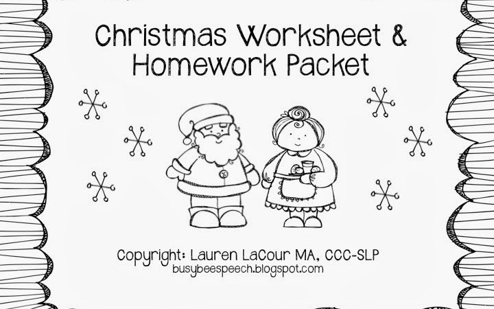 Christmas Worksheets & MORE!