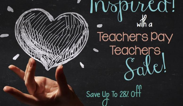Inspired TpT Sale!
