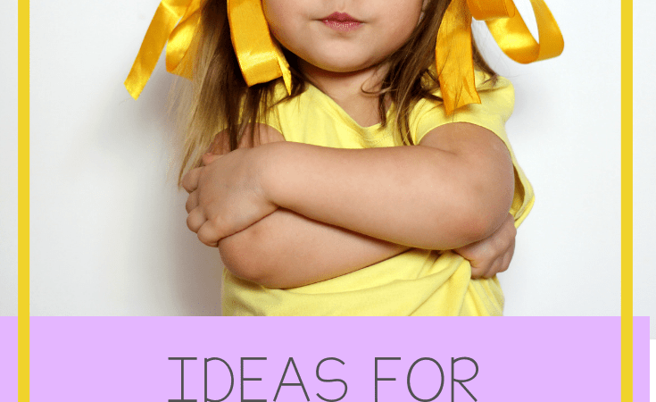Ideas for Behavior Management in Preschoolers