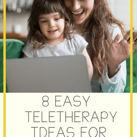 teletherapy ideas for preschool speech therapy