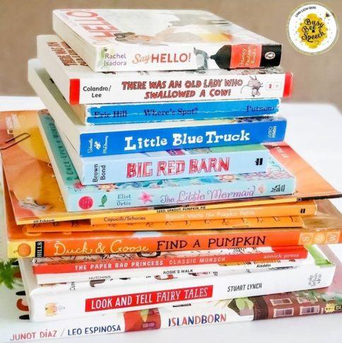 fall books for speech