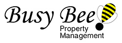 busy bee property management logo