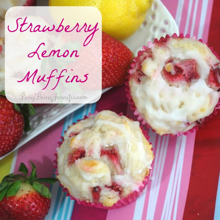 High-Heeled Love - Weekly Round-Up: Strawberry Lemon Muffins by Busy Being Jennifer