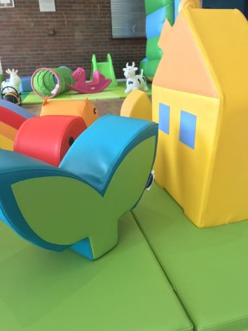 Busy Bees Play Cafe Soft Play Toys