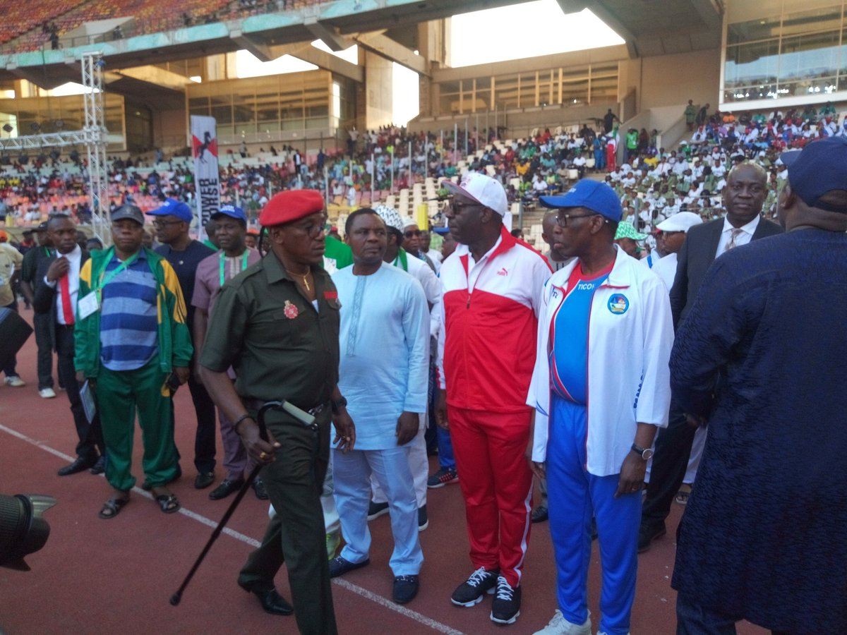National Sports Festival dignitaries - National Sports Festival: Edo getting ready to host the Nation