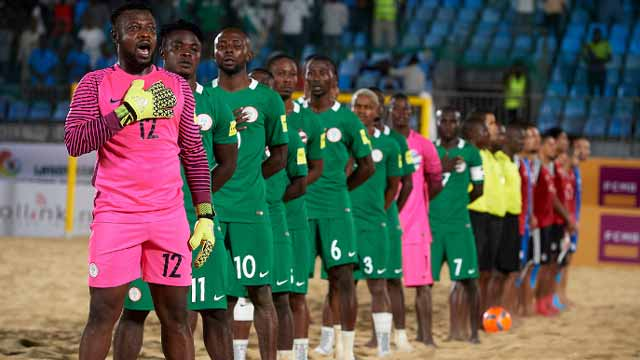 Supersand Eagles - Beach Soccer: Qualifying from group stage at World Cup is our focus– Captain