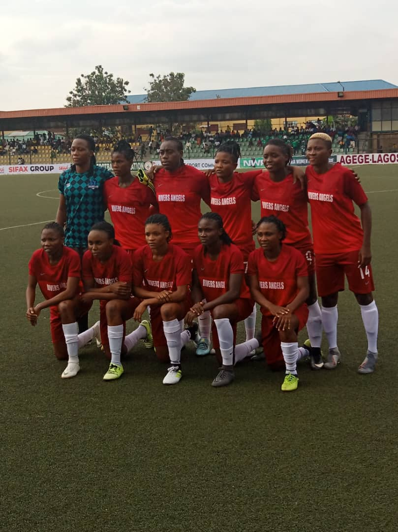 IMG 20191103 WA0005 - Rivers United congratulates Rivers Angels over Super Four triumph