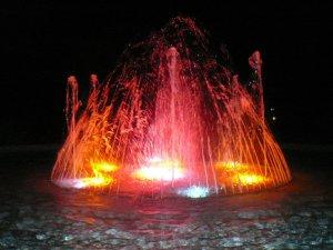 Fountain in the Sunken Gardens
