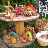 Early Years Garden of Our Dreams. Part 5 – Secret Small Worlds