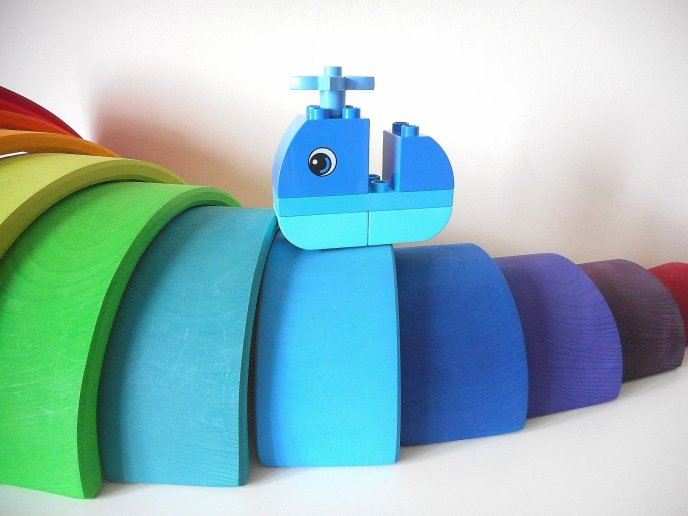 incidental learning - learning as they go - nano series - construction - play - learning - language - communication - maths - numeracy - fine motor skills - building blocks - colour