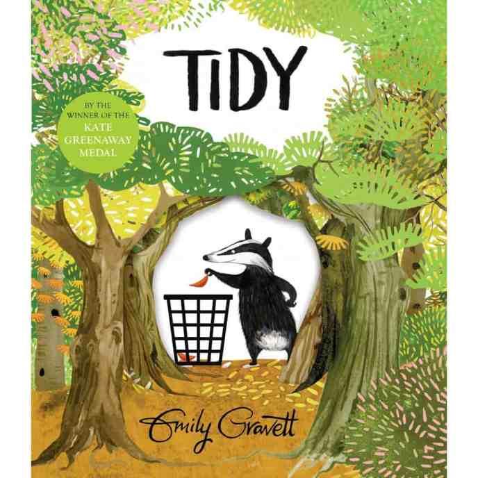 Book - tidy-emily-gravett