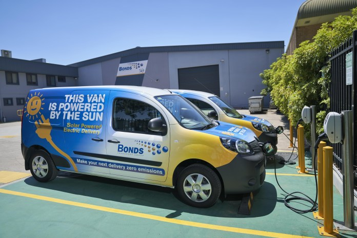 Sendle delivers with Australia's first off-grid fleet of solar powered vans