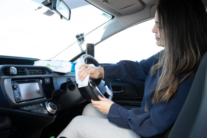 RB and Uber Australia ride together to help curb the spread of germs
