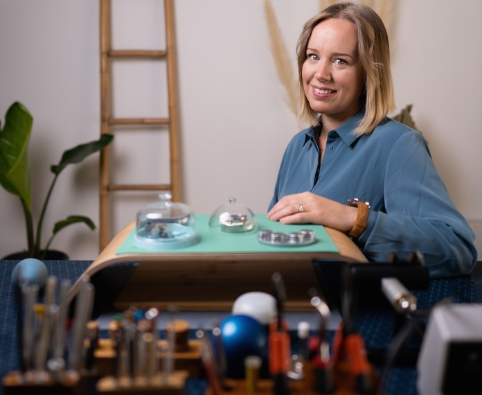 Female watchmaker launches meticulously designed mechanical watches