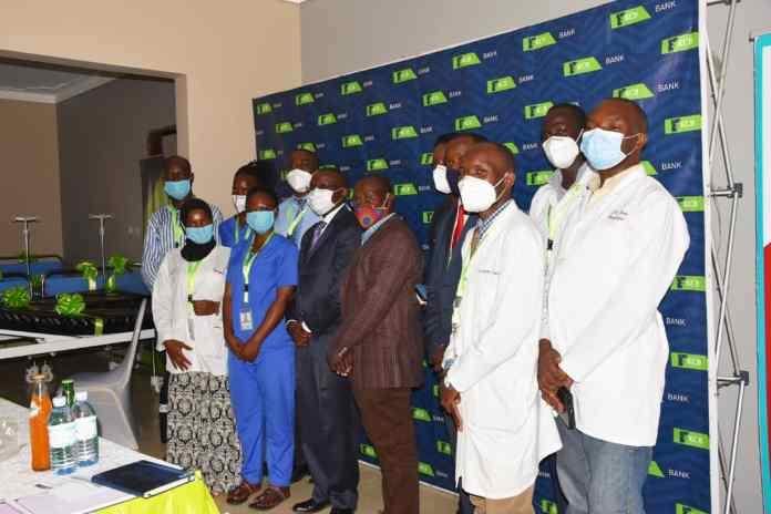 KCB Uganda donates medical equipment to Sanctuary Medical Foundation