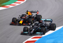 Lewis overtakes Max