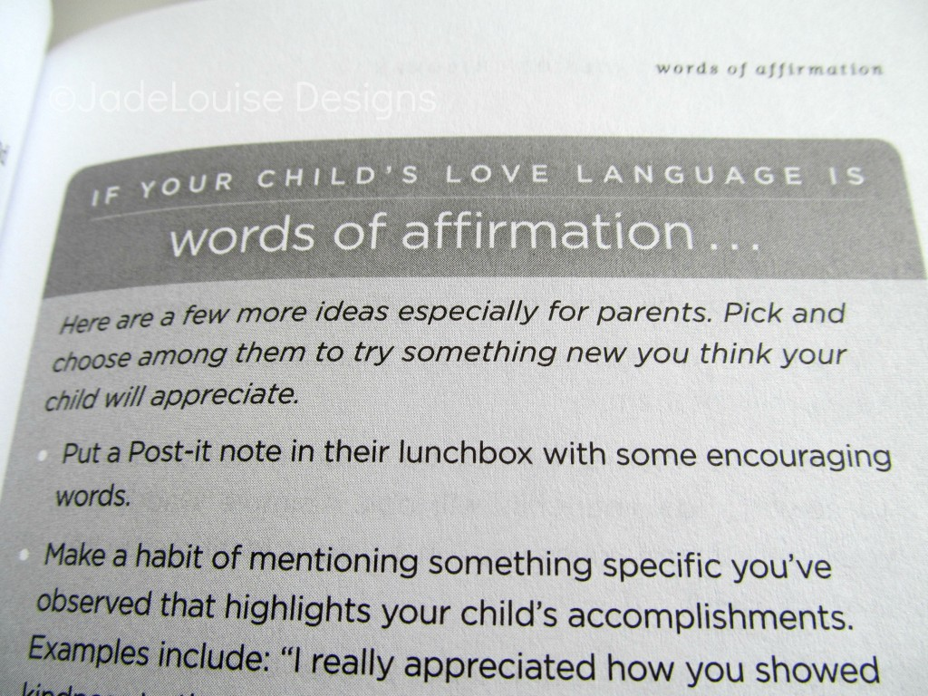 Five Love Languages Of Children Family Friendly Book Review