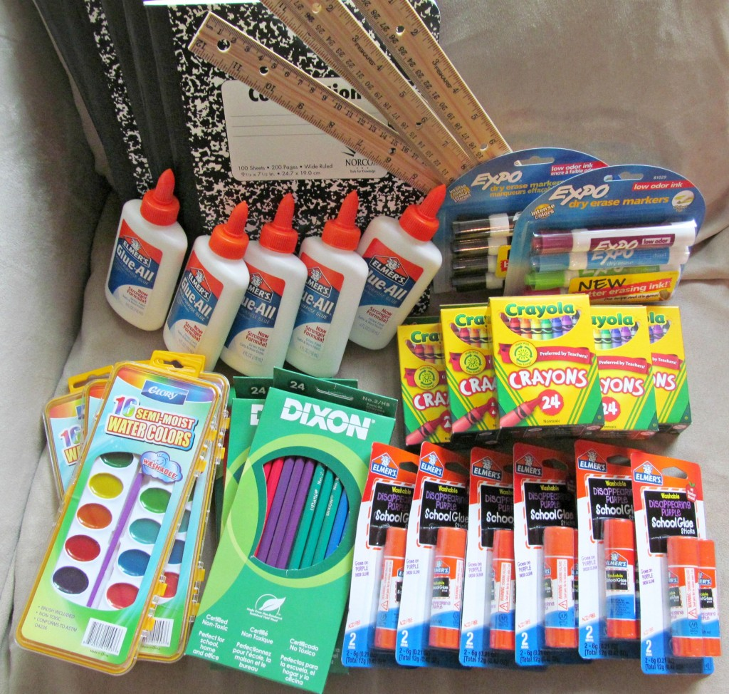 Bringing School Supplies To Those In Need With