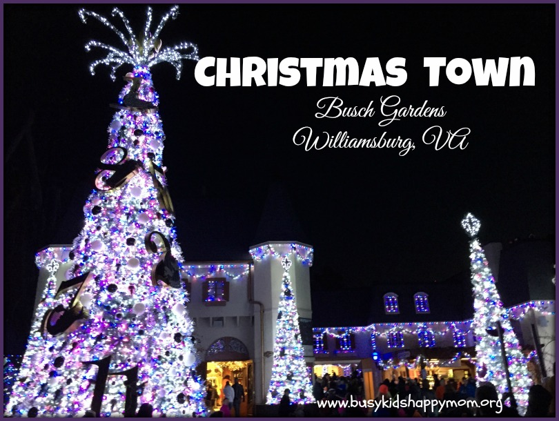Ten Tips For Visiting Christmas Town At Busch Gardens