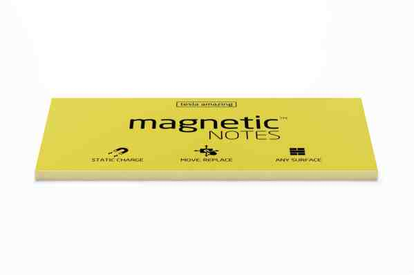 Magnetic Notes Yellow