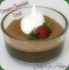 Creamy Chocolate Treat / Busy Mom's Helper