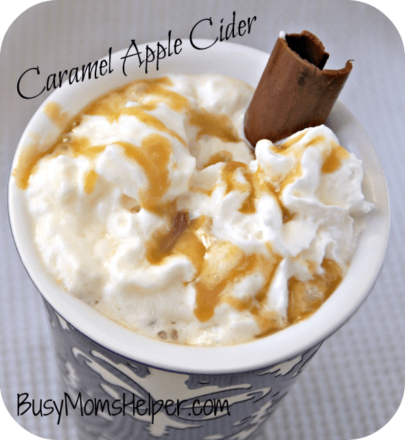 Slow-cooker Caramel Apple Cider / Busy Mom's Helper