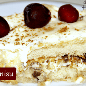 Cherry Tiramisu / Busy Mom's Helper