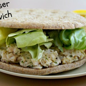 Chicken Caeser Salad Sandwich / Busy Mom's Helper