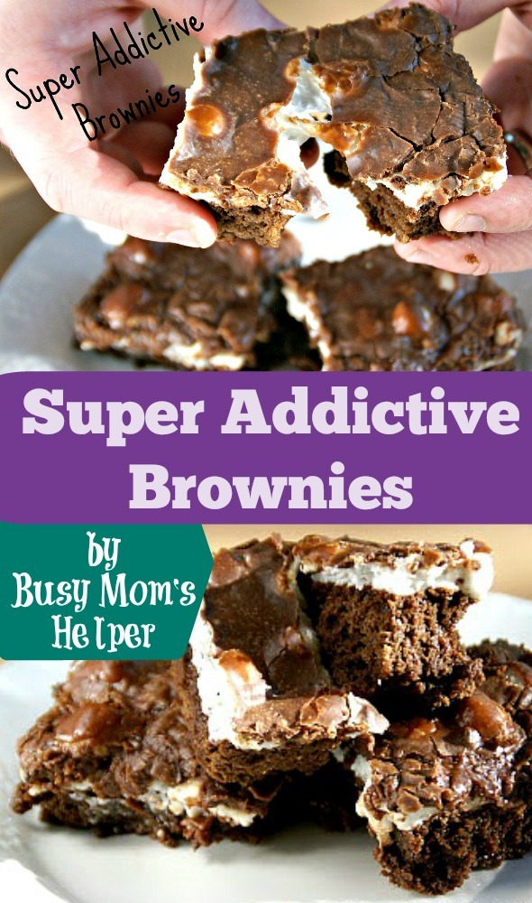 Super Addictive Brownies / by Busy Mom's Helper #Brownies #Chocolate #Dessert