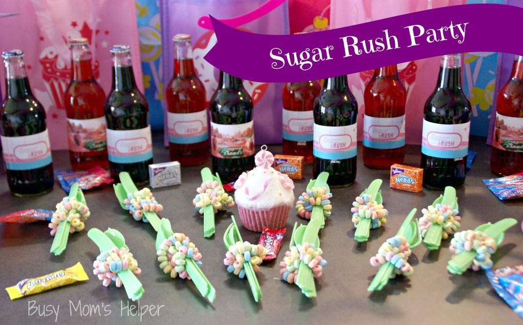 Sugar Rush Party Series: Decorations