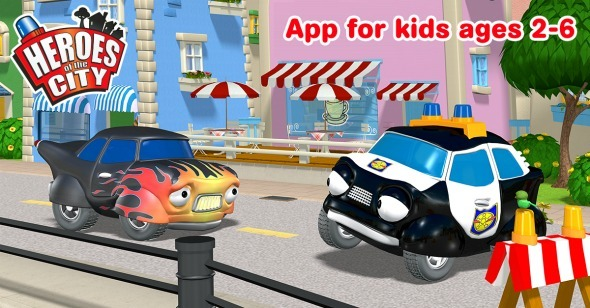Heroes of the City App & Giveaway / Busy Mom's Helper