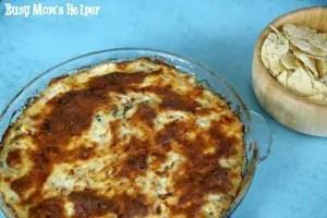 Cheesy Cauliflower Dip / by www.BusyMomsHelper.com #cheese #cauliflower #dip