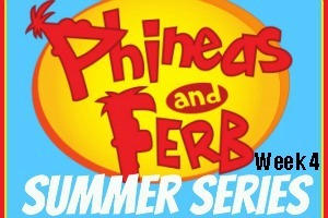 Phineas & Ferb Summer Series: Week 4 / by www.BusyMomsHelper.com #P&FSummer #KidActivities #Printables