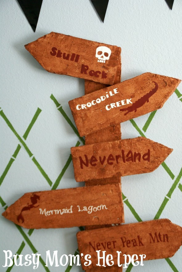 Pirate Bedroom: Royal Design Stencils Review / by www.BusyMomsHelper.com #remodel #pirate #stencil #walldecor