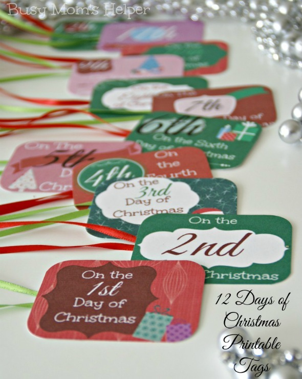 Ultimate Free Christmas Printable Round Up / by Busy Mom's Helper #ChristmasinJuly #FreePrintables #Holidays #ChristmasDecor