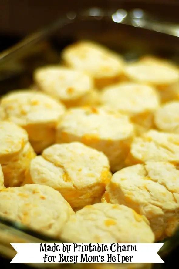 Cheese Biscuits & Free Menu Planner Printable / by Printable Charm for Busy Mom's Helper #cheese #recipe #printable #freemenu