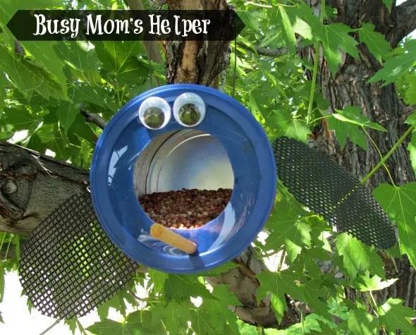 ladybug bird feeder 5