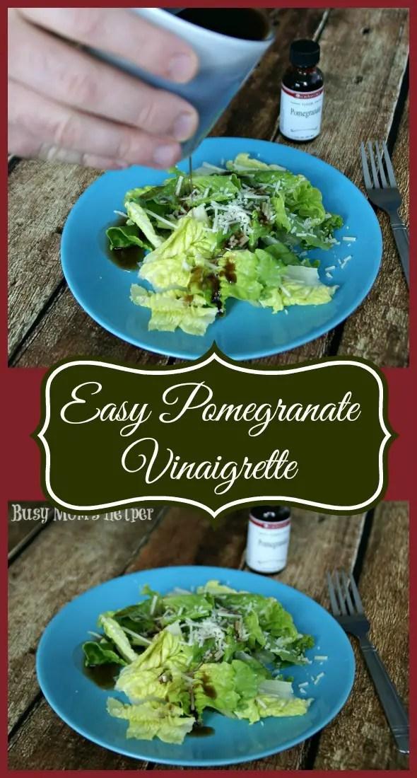 Easy Pomegranate Vinaigrette / by Busy Mom's Helper #SaladDressing #Vinaigrette #Pomegranate #LorAnn