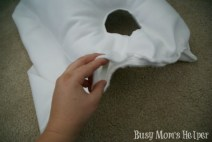 DIY Olaf Costume in 2 Hours or Less / by Busy Mom's Helper #Frozen #Olaf #Costume #Snowman