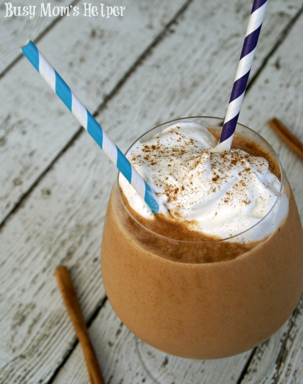 Pumpkin Spice Milkshake / by Busy Mom's Helper #Pumpkin #Milkshake
