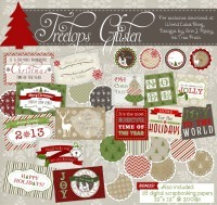 Ultimate Printable Holiday Gift Tag Round Up / by Busy Mom's Helper #holidays #freeprintables #gifttags