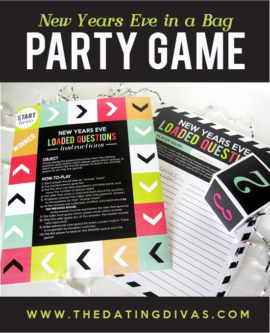 Planned New Year's Eve Party / by Busy Mom's Helper #DatingDivas #NewYears #Parties #Printables