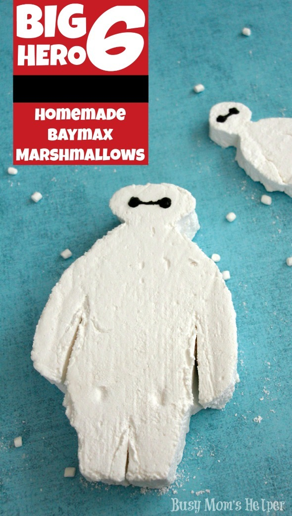Homemade Baymax Marshmallows / by Busy Mom's Helper #BigHero6 #Baymax #Valentines