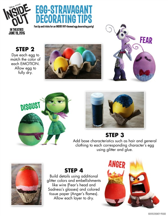 Disney's Inside Out Free Printable Activities / by Busy Mom's Helper