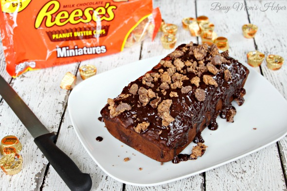 Chocolate Reese's Banana Bread & REESE'S Brownie Truffles / by Busy Mom's Helper #snacktalk #ad