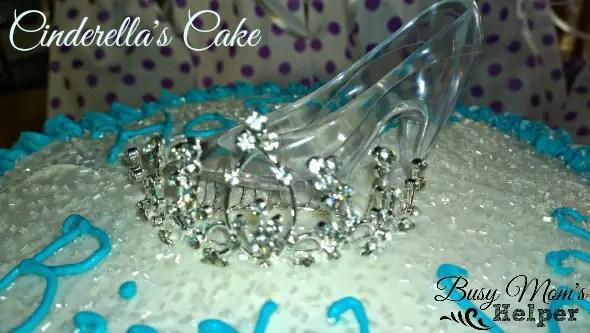 Cinderella Funfettie and White Pudding Cake