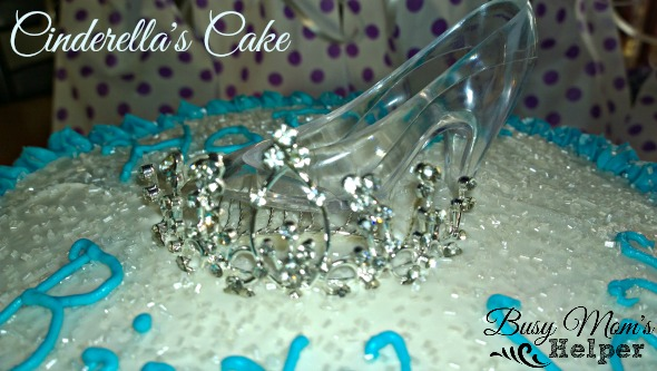 Cinderella Funfettie and White Pudding Cake
