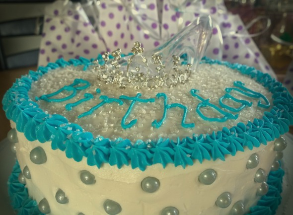 Cinderella Funfetti Pudding Cake is a fun moist cake to sure surprise any little princess.